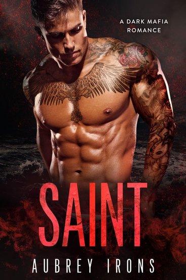 Love Aubrey Book Cover : Saint by aubrey irons book boyfriends central